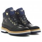 Men's Black / Blue Boots