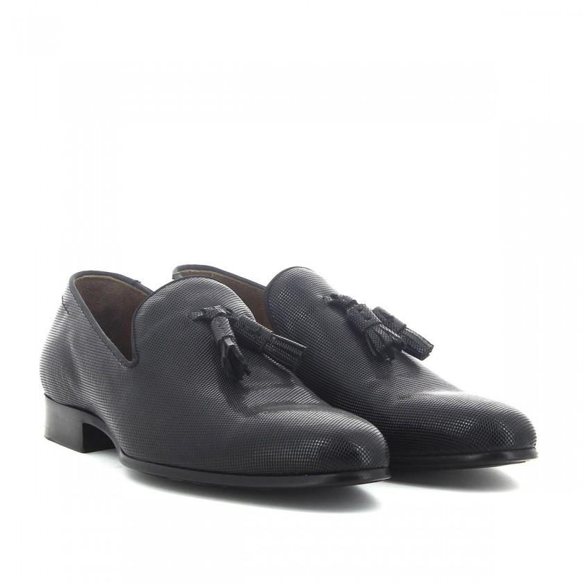 Sapatos Homem Cohibas de Pele Trabalhada