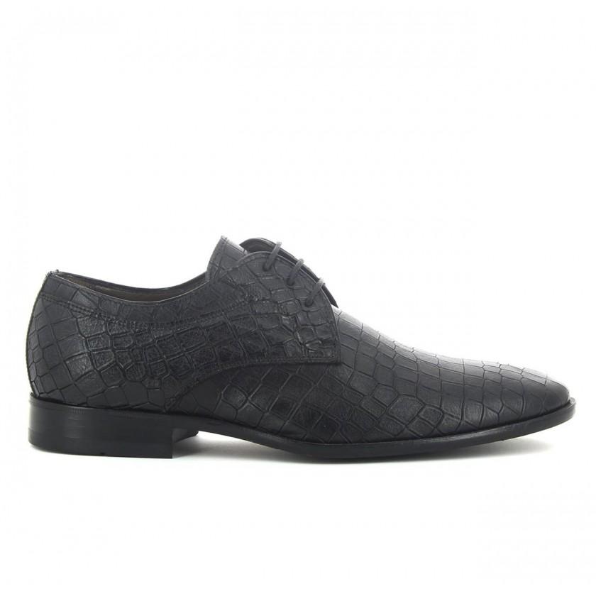 Sapato Homem Croco Preto