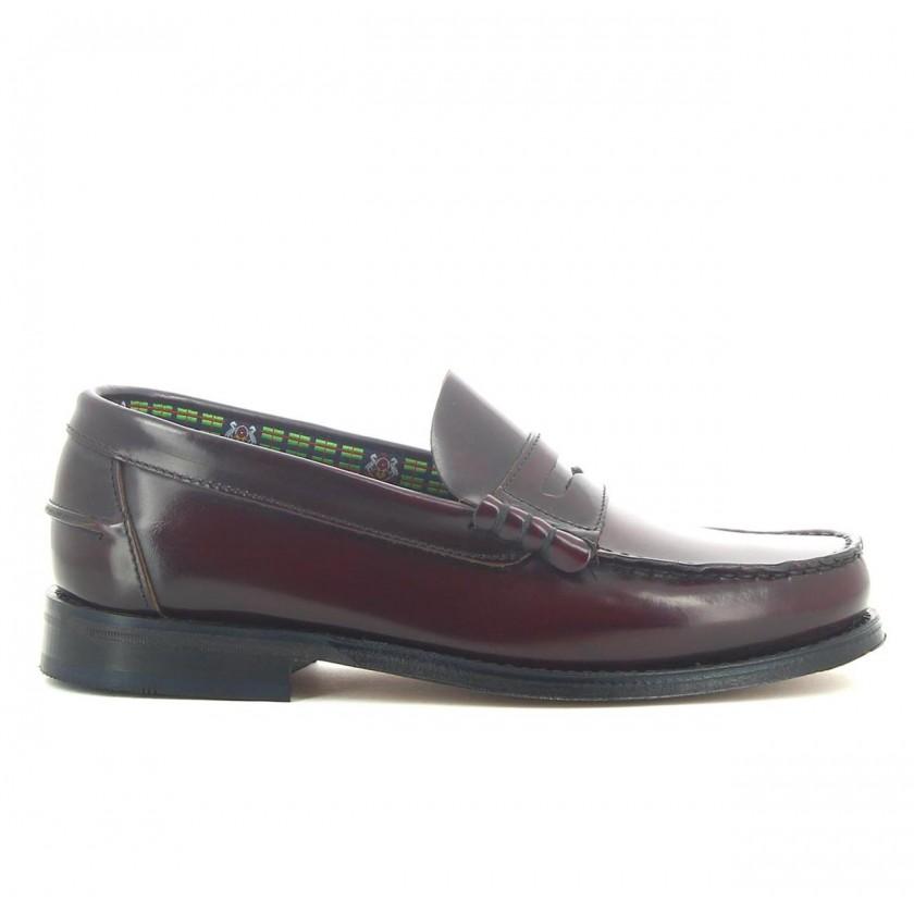 Sapatos Homem Bordô