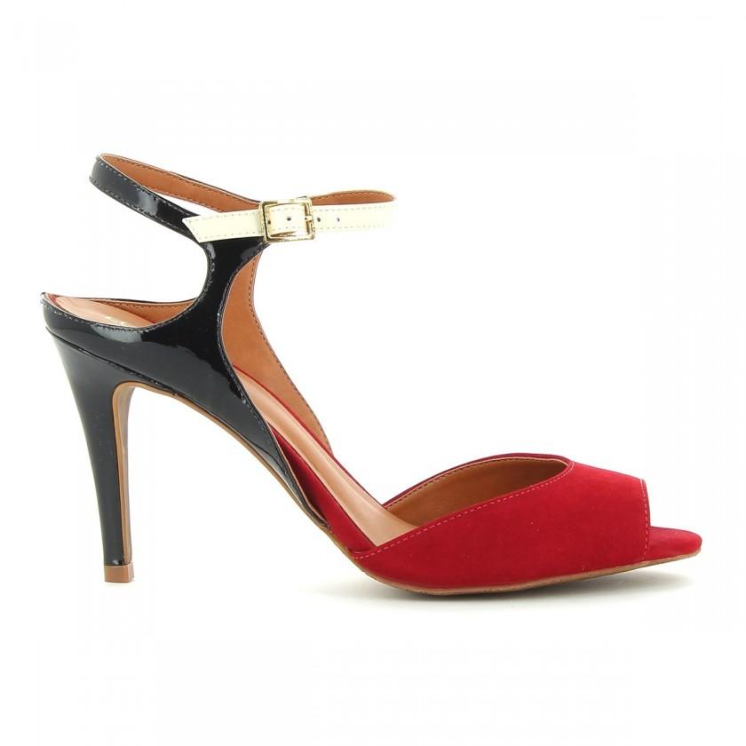 Sandália Senhora Vermelho /...
