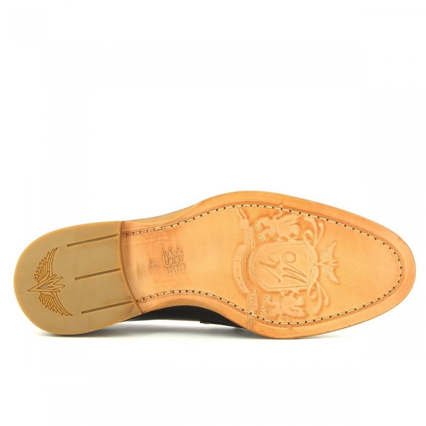 Black shoes man