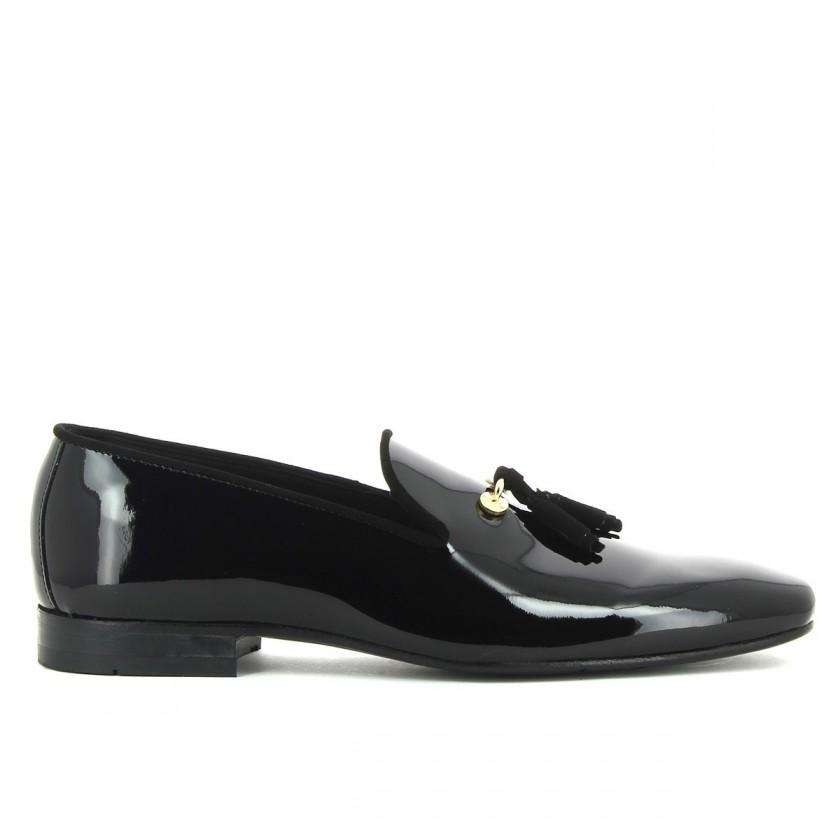 Sapatos Homem Verniz Preto