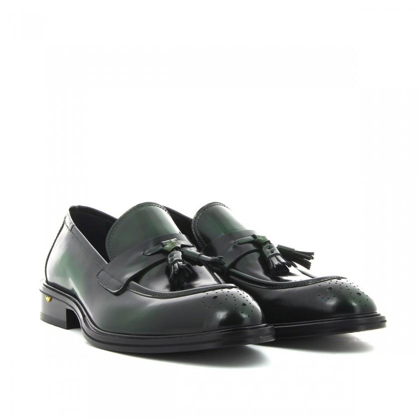 Sapatos Homem Verdes