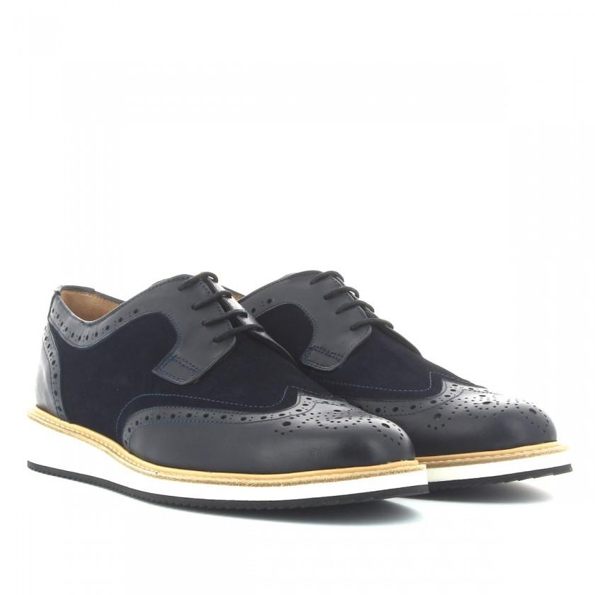 Sapatos Azuis Homem