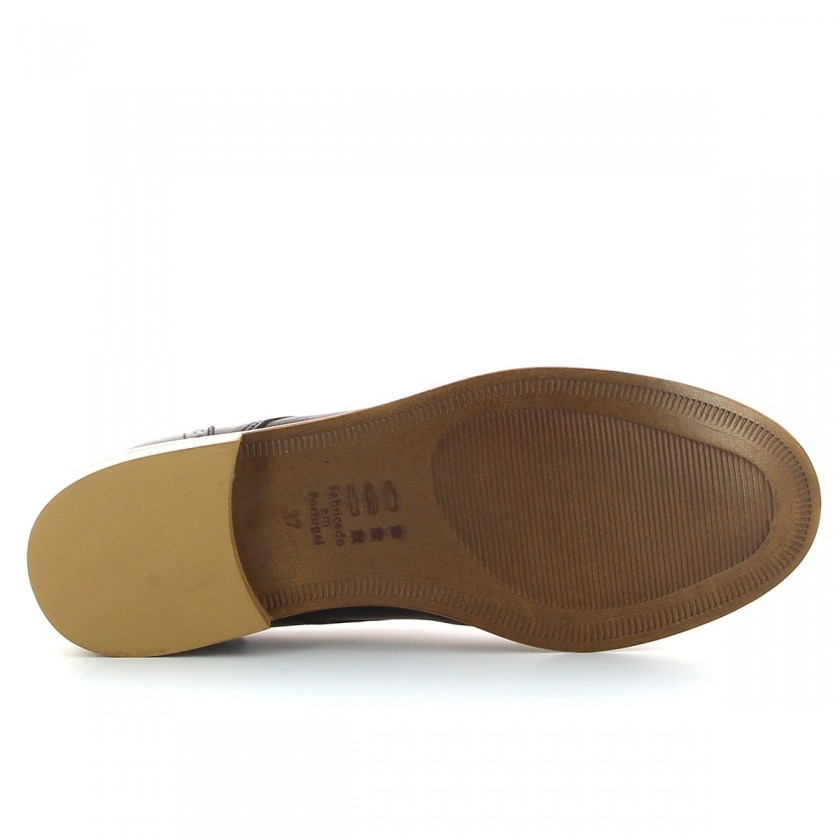 Sapatos Richelieu Senhora Pretos