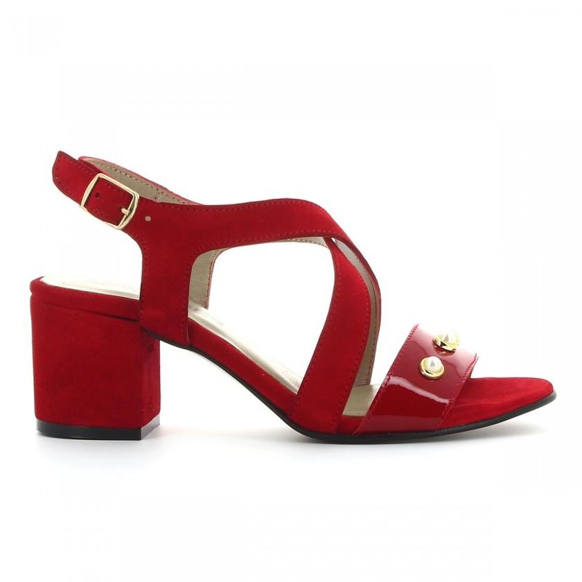 Sandália Senhora Vermelha