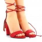 Sandálias Venhora Papagaio Vermelho