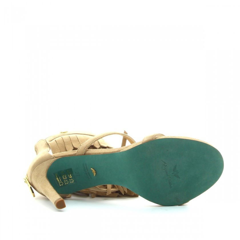 Sandália Senhora Taupe