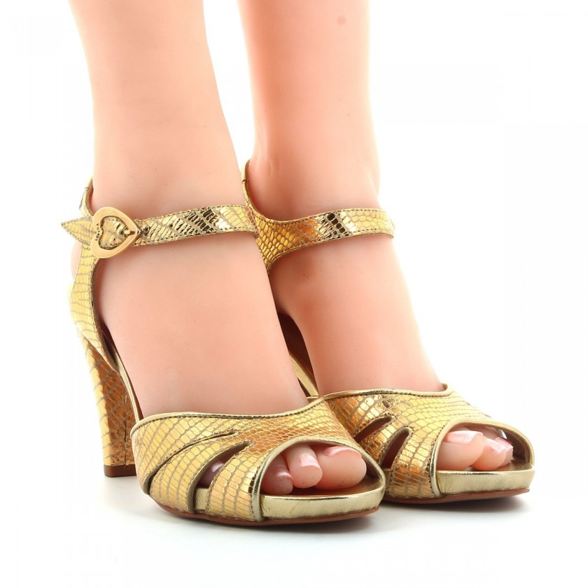 Sandália Senhora Dourada