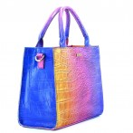 "Lady Croco Bag ""Sunset"" Rufel"