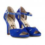 Sandálias de dança azuis Bruber