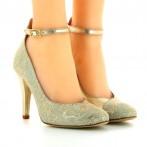 Sapatos de Dança Senhora Dourados Bruber