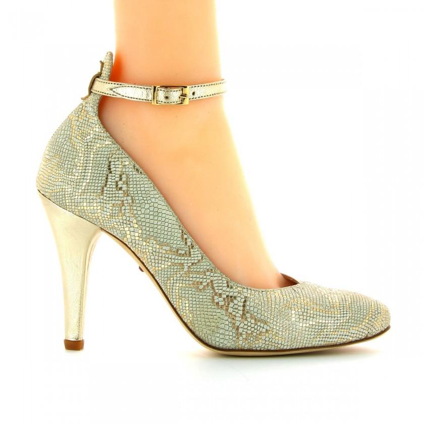 Bruber Women's Golden Dance Shoes