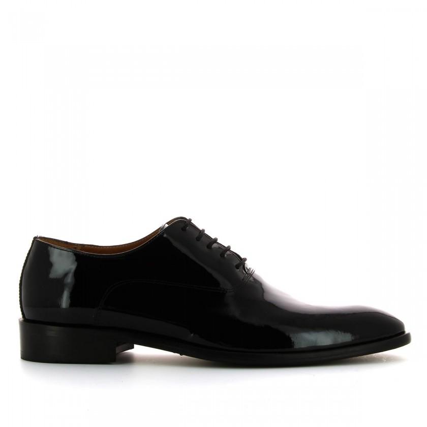 Sapatos Homem em Verniz Preto