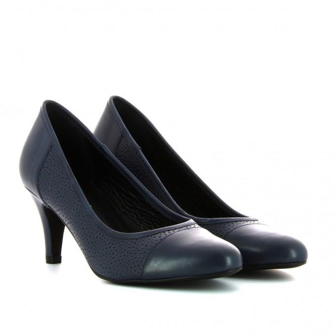 Sapatos azuis senhora Tatuaggi