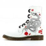 Botas brancas personalizadas - Japão