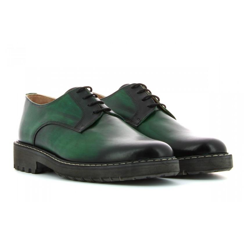 Sapatos Verdes Homem...