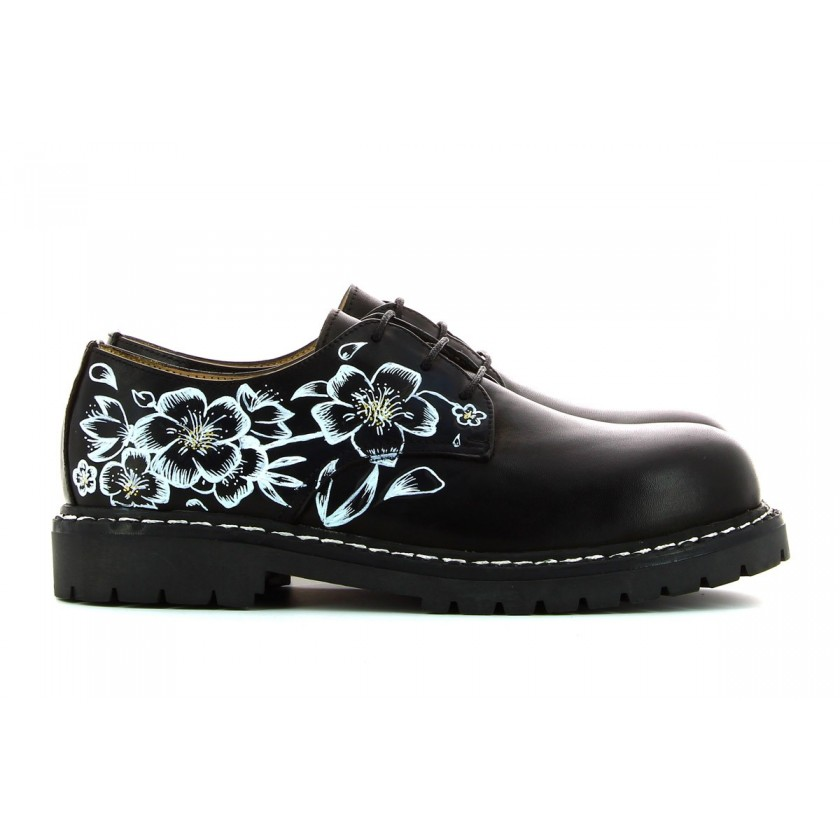 Sapatos Pretos Senhora Personalizados