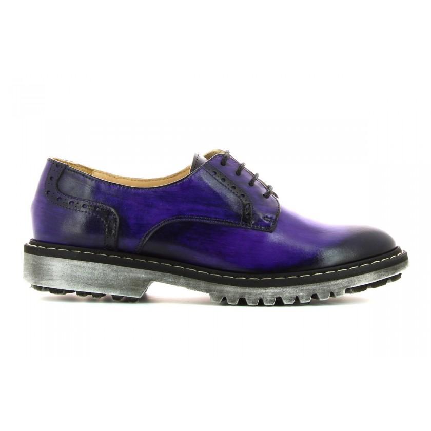 Sapatos Roxos Senhora Pintados à Mão