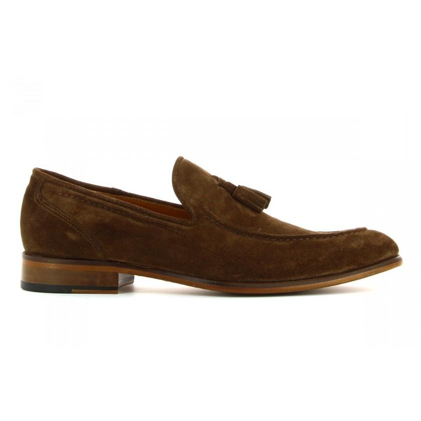 Sapatos Camurça Castanha...