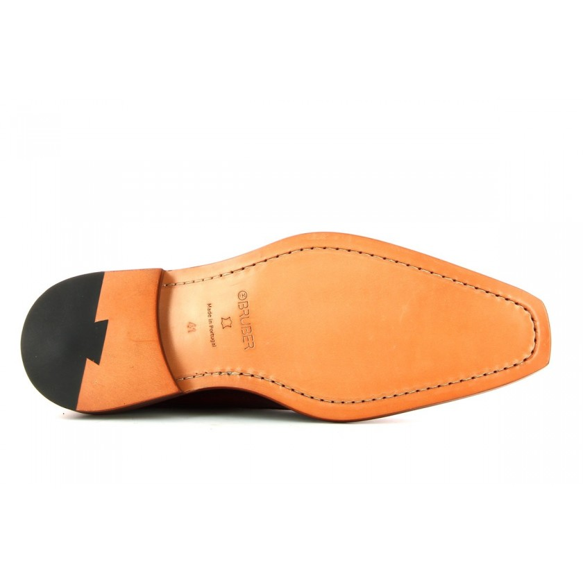 Sapatos Castanhos Homem