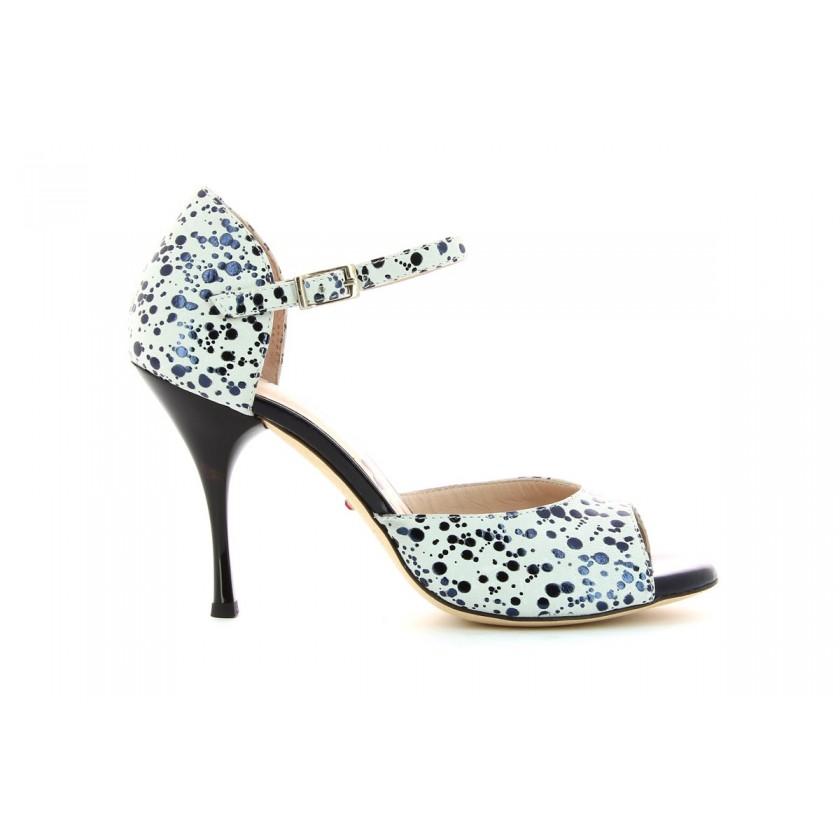 Sandálias de Dança azuís Senhora Bruber