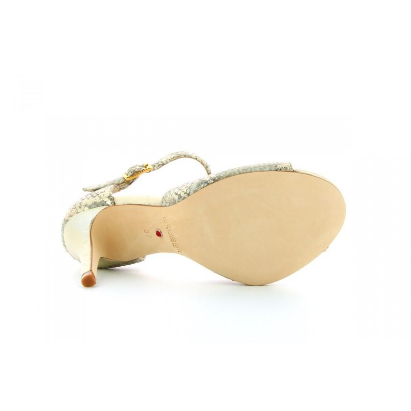Sandales de danse dorées de femmes  Bruber