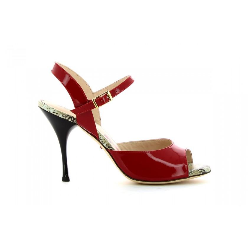 Women's Red Dance Sandals Bruber