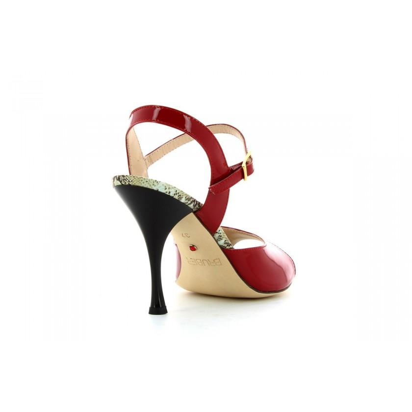 Sandales de danse rouges de femmes  Bruber