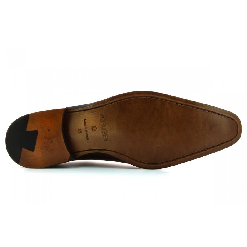Sapato Castanhos Homem Pintado à Mão