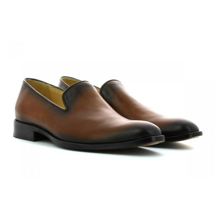 Sapatos Castanhos Homem...