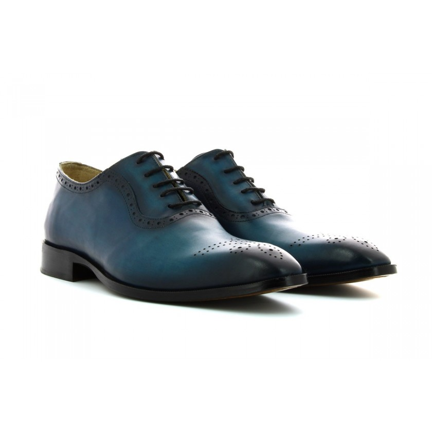 Sapatos Azuis Homem...