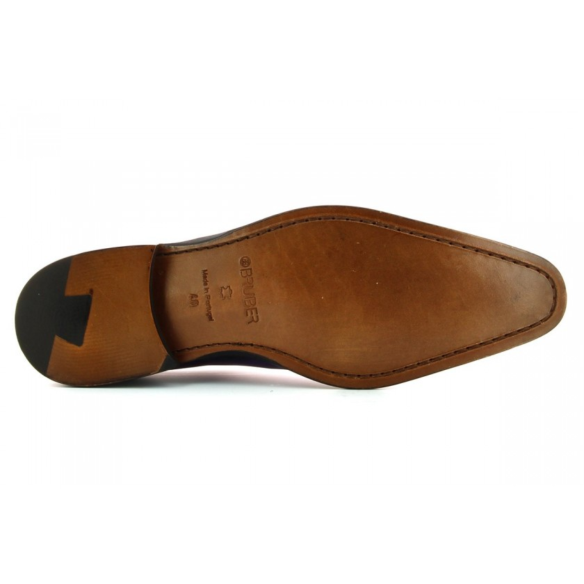 Sapatos Roxos Homem Pintados à Mão