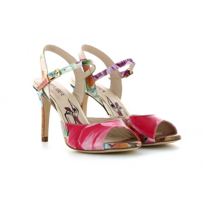 Sandálias Floridas Senhora