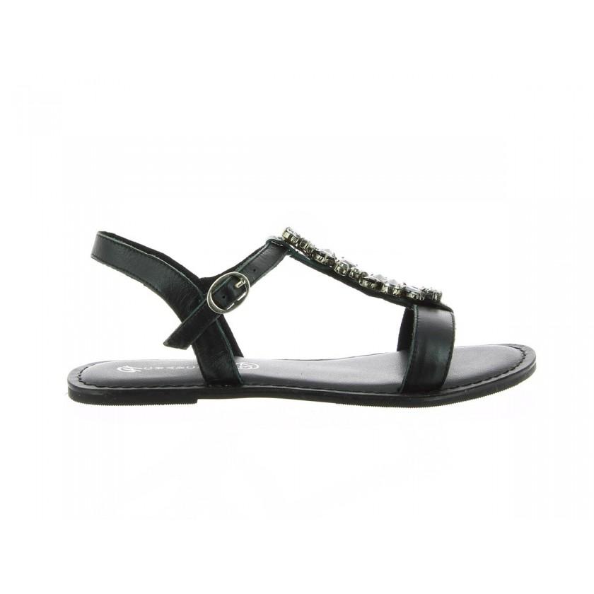 Sandales noires de femmes