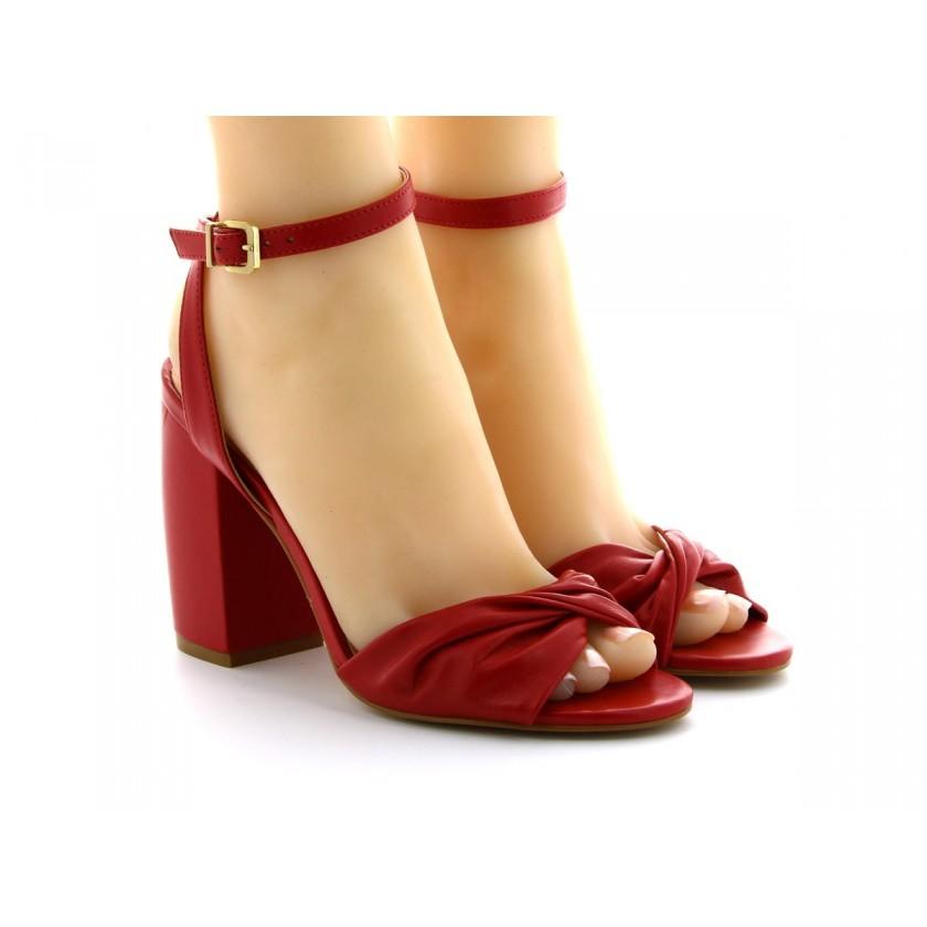 Sandálias Vermelhas Senhora