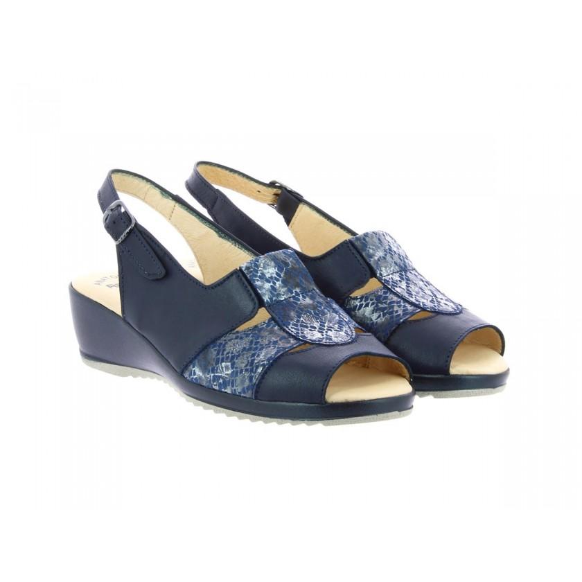 Blue Sandals Ladies