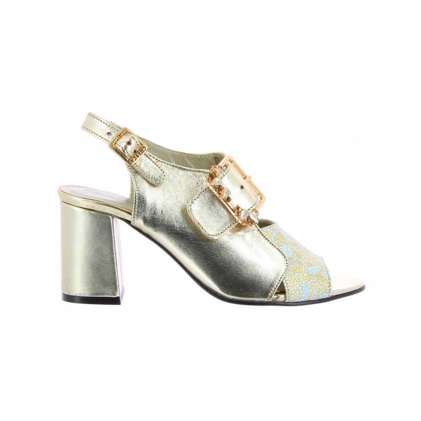 Sandálias Douradas Senhora