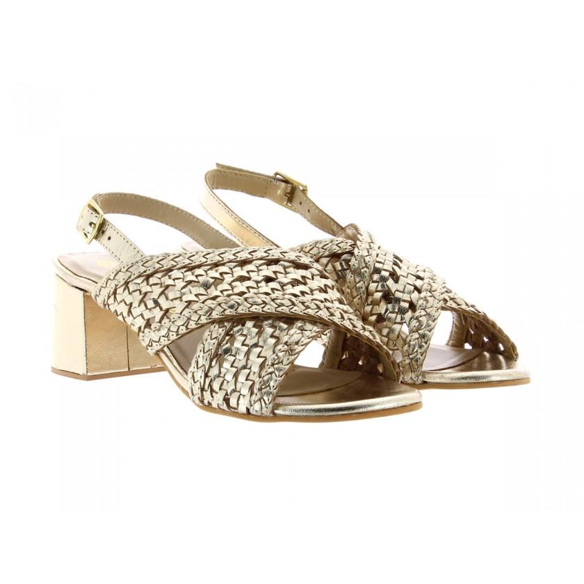 Sandálias Ouro Senhora