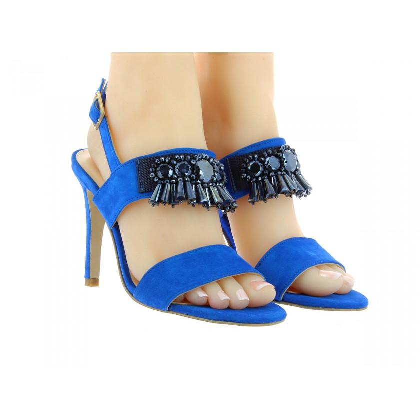 Sandálias Azuis Senhora
