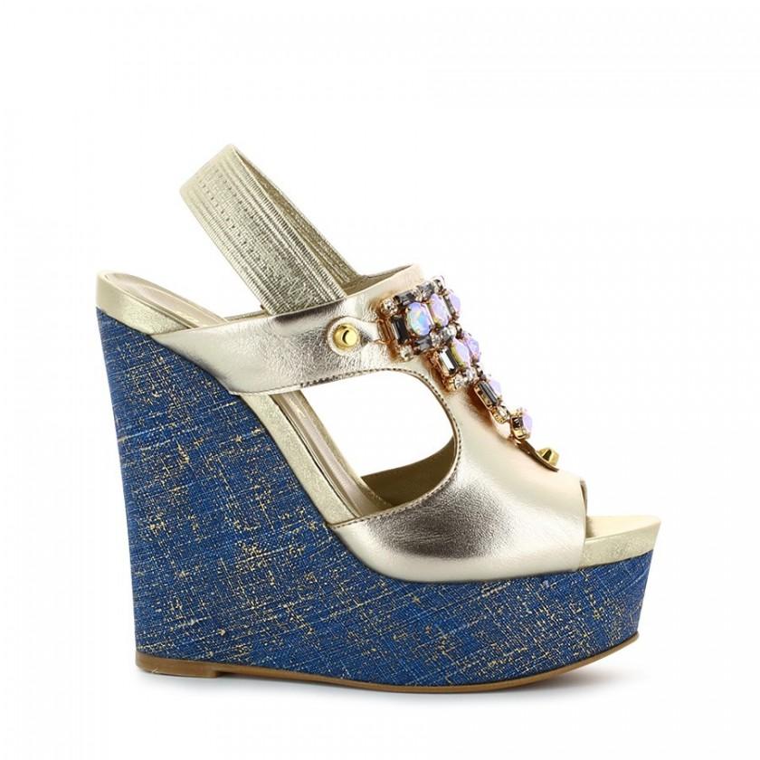Sandálias Senhora Champagne...