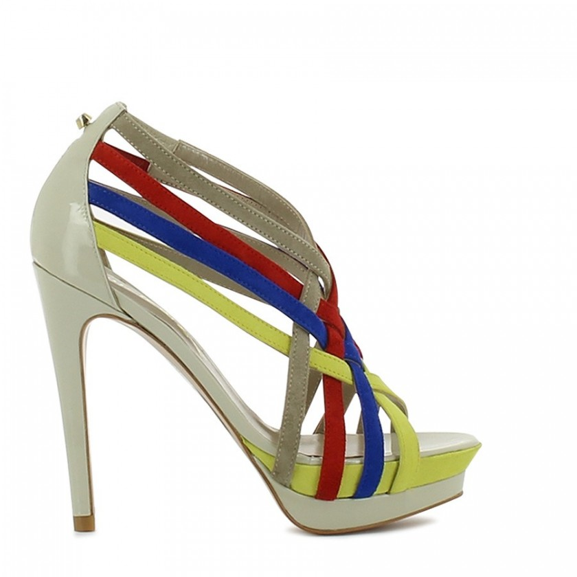 Sandália Senhora Multicolor