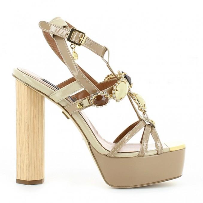 Sandálias Senhora Bege