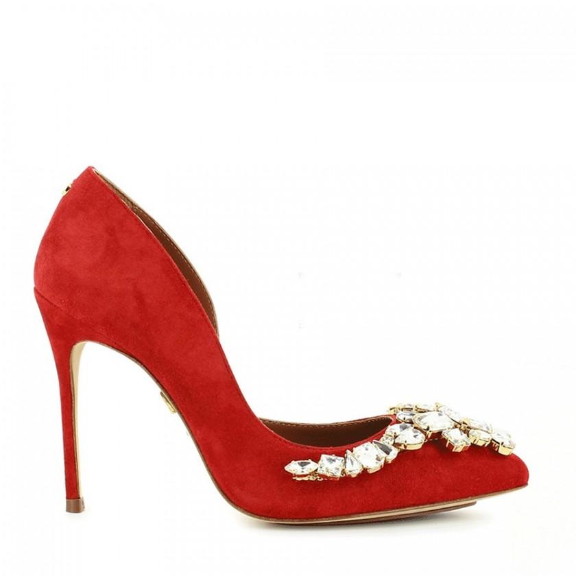 Sapatos Senhora Vermelhos