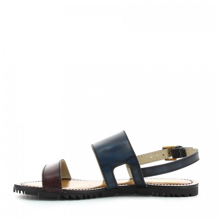 Sandálias Senhora Azul / Bordeaux