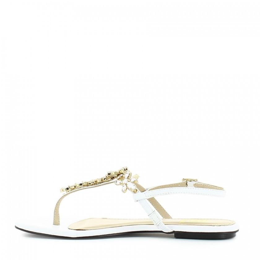 Sandálias Senhora Brancas