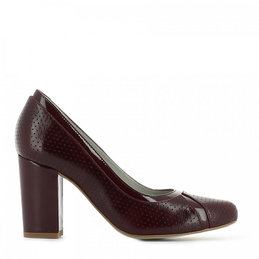 Chaussure femme  bordeaux