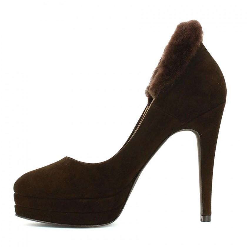 Sapato Senhora Castanho
