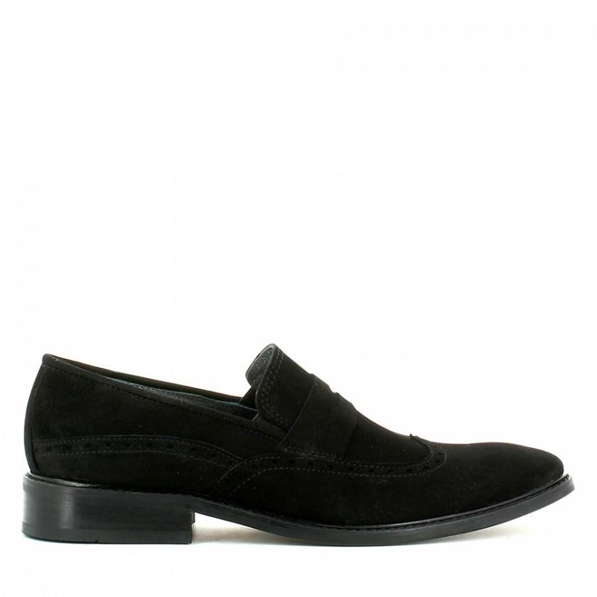 Sapato Homem Camurça Preta